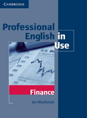 9780521616270 - Professional english in use - finance