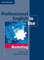 9780521702690 Professional English In Use Marketing Edition With Answers