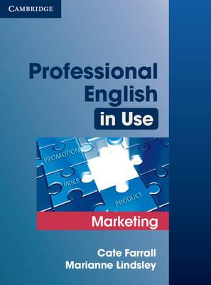 9780521702690 - Professional English In Use Marketing Edition With Answers