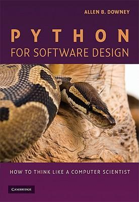 Python for software design how to think like a computer scientist