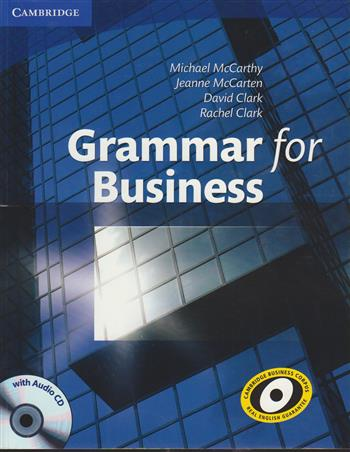 9780521727204 - Grammar for Business with Audio CD