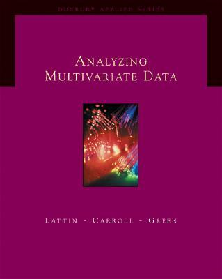 9780534349745 - Analyzing multivariate data