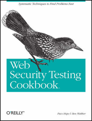 9780596514839 - Web security testing cookbook - systematic techniques to find problems fast
