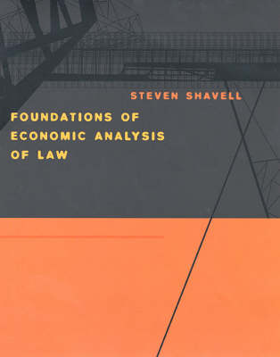 9780674011557 - Foundations of Economic Analysis of Law