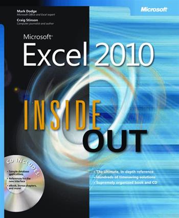 9780735626881 - Microsoft excel 2010 inside out