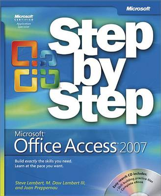 9780735637870 - Microsoft Office Access 2007 Step by Step