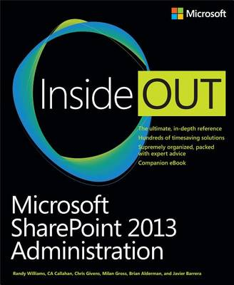 9780735675902 - Microsoft SharePoint 2013 Administration Inside Out