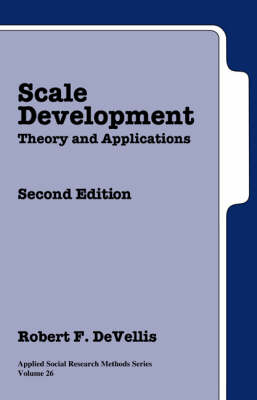 9780761926054 - Scale Development Theory And Applications