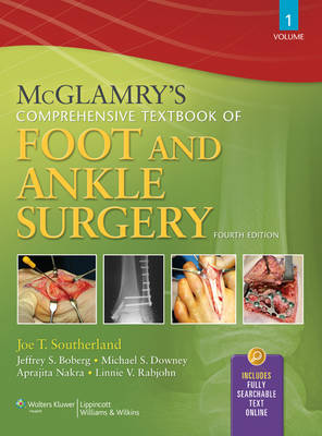 9780781765800 - McGlamry's Comprehensive Textbook of Foot and Ankle Surgery