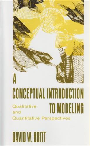 9780805819380 - A Conceptual Introduction To Modeling Qualitative And Quantitative Perspectives