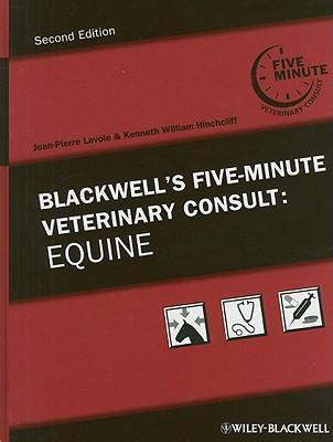 9780813814872 - Blackwell's five minute veterinary consult equine