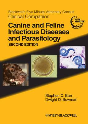 9780813820125 - Canine & feline infectious diseases and parasitology 2nd '12 blackwell's 5-minute veterinary consult clinical companion