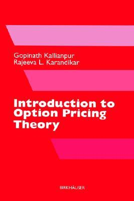 9780817641085 - Introduction to option pricing theory