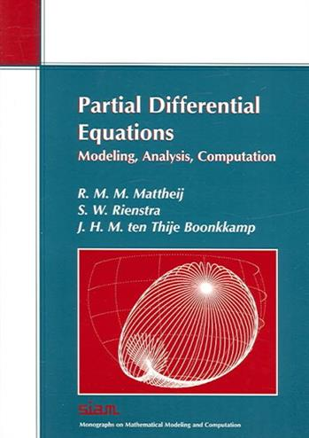9780898715941 - Partial differential equations modeling, analysis, computation
