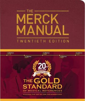 9780911910421 - The Merck Manual of Diagnosis and Therapy