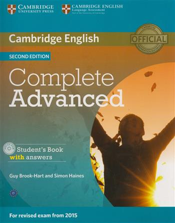 9781107670907 - Complete advanced student's book with answers (+ cd-rom)