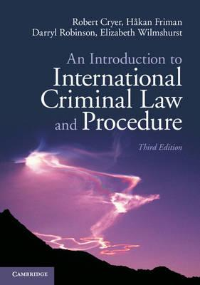 9781107698833 - An Introduction to International Criminal Law and Procedure