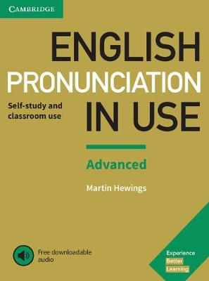 9781108403498 - English Pronunciation in Use Advanced Student's book + answers + digital audio