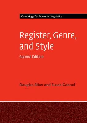 9781108444088 - Cambridge Textbooks in Linguistics: Register, Genre, and Style