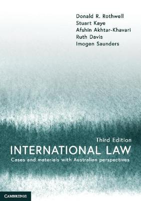 9781108445450 - International Law: Cases and Materials with Australian Perspectives