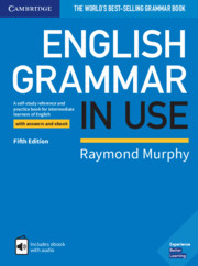9781108586627 - English grammar in use book with answers (+ eBook access)