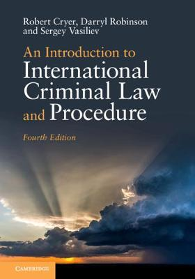 9781108741613 - An Introduction to International Criminal Law and Procedure