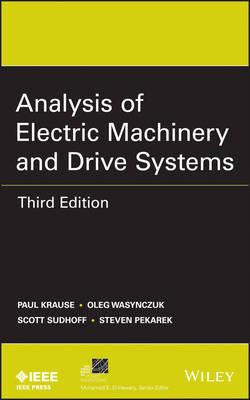 9781118024294 - Analysis of Electric Machinery and Drive Systems, Third Edition