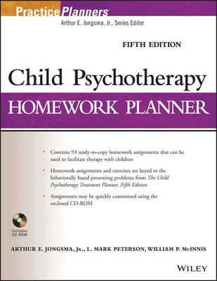 9781118076743 - Child Psychotherapy Homework Planner, Fifth Editio n