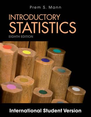 9781118318706 - Introductory Statistics Eighth Edition Internation al Student Version