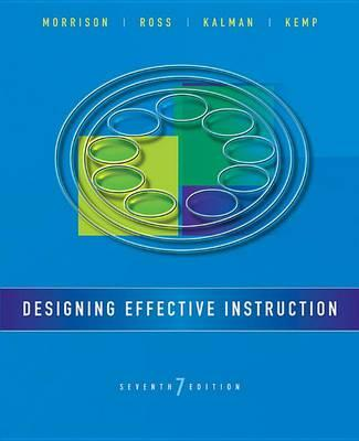 9781118359990 - Designing Effective Instruction