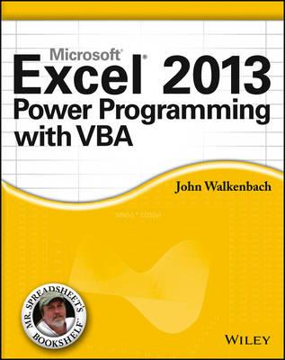9781118490396 - Excel 2013 Power Programming with VBA