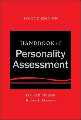 9781119258889 - Handbook of Personality Assessment