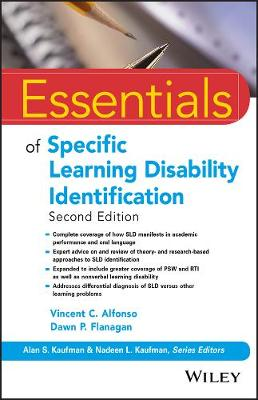 9781119313847 - Essentials of Specific Learning Disability Identification