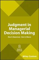 9781119427384 Judgment in Managerial Decision Making