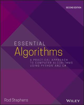 9781119575993 - Essential Algorithms: A Practical Approach to Computer Algorithms Using Python and C-sharp