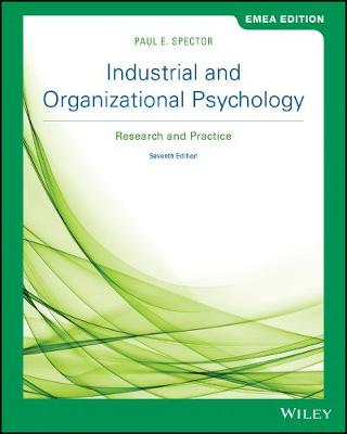 9781119586203 - Industrial and Organizational Psychology