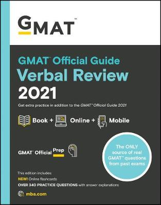 9781119687887 - GMAT Official Guide Verbal Review 2021: Book + Online Question Bank
