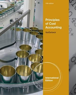 9781133187882 - Ise principles of cost accounting