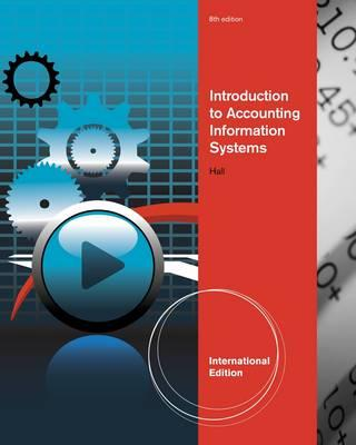 9781133187981 - Introduction To Accounting Information Systems