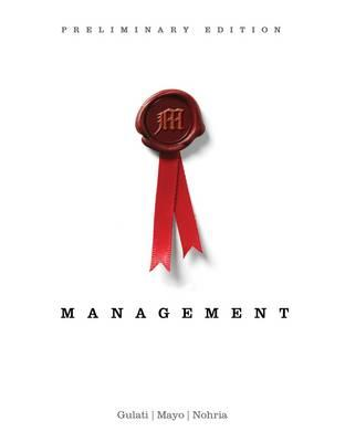 9781133626701 - Management, preliminary ed.