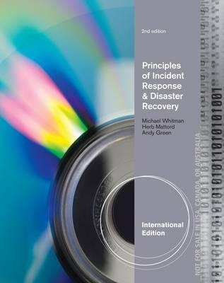 9781133673682 - Ise Principles Of Incident Response & Disaster Recovery