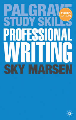 9781137309013 - Professional Writing