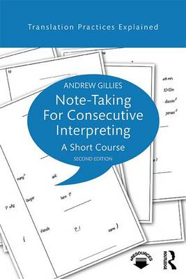 9781138123205 - Note-taking for Consecutive Interpreting: A Short Course