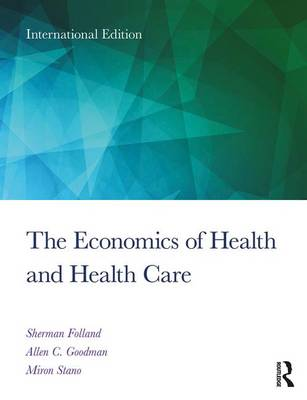 9781138208056 - Economics Of Health & Health Care