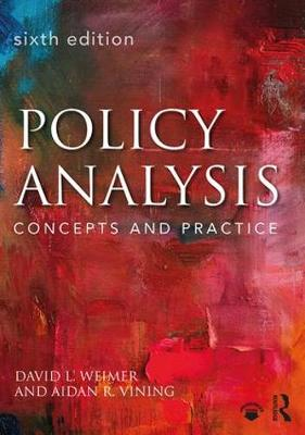 9781138216518 - Policy Analysis: Concepts and Practice