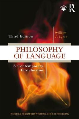 9781138504585 - Philosophy of Language: A Contemporary Introduction