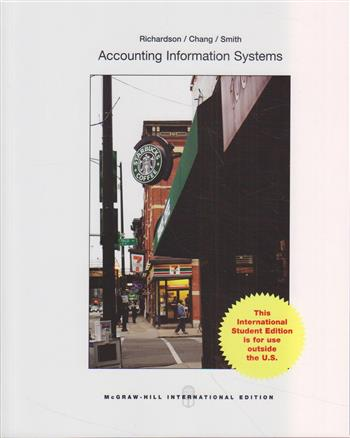 9781259060816 - Accounting Information Systems