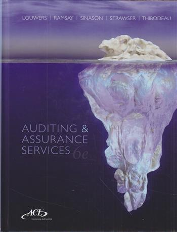 9781259095665 - Auditing and Assurance Services