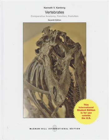 9781259253751 - Vertebrates: Comparative Anatomy, Function, Evolution