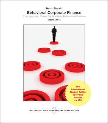 9781259254864 - Behavioral Corporate Finance